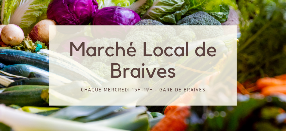 Marché local de Braives
